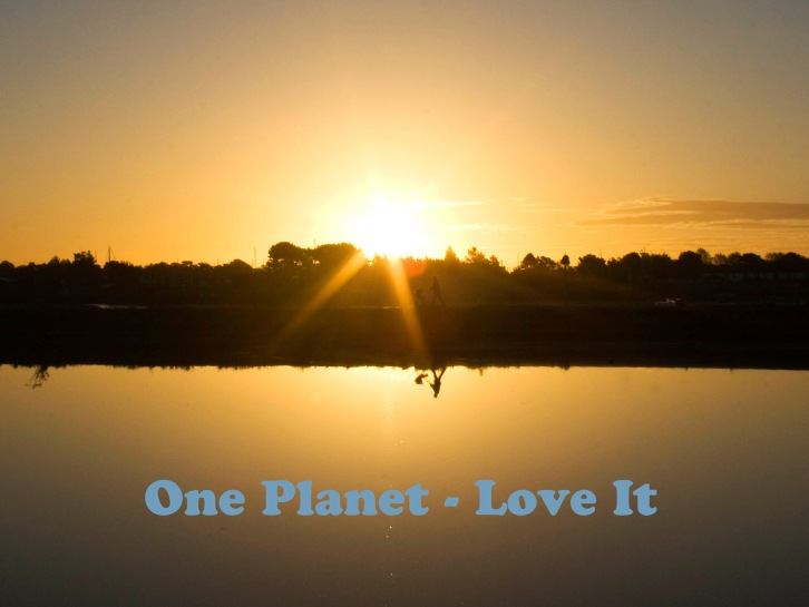 One Planet Love it
