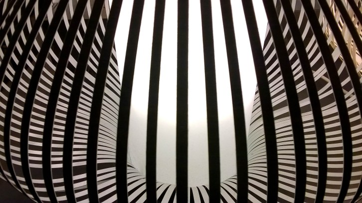 Inside of a light Shade