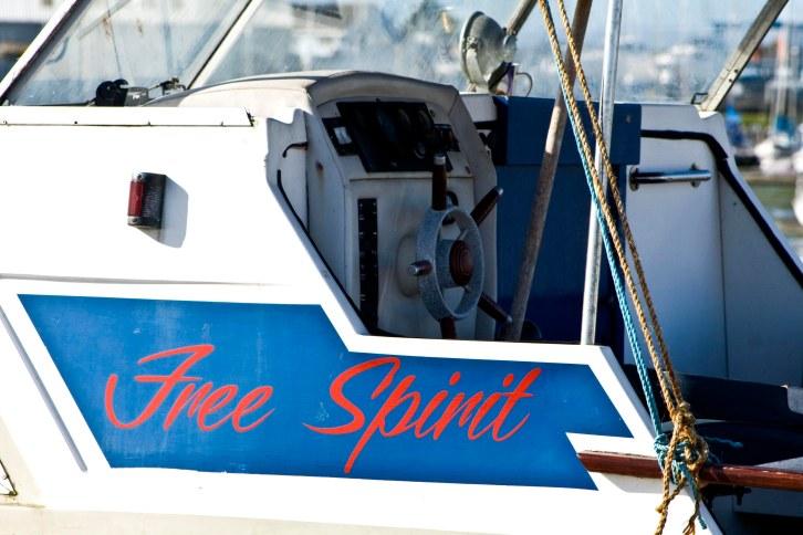 Boat called Free Spirit