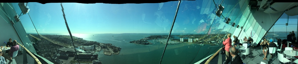 View of Portsmouth UK